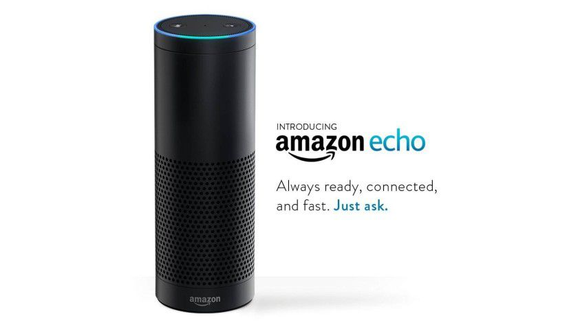 Amazon Echo hört auf Sprachkommandos und kann etwa auch den Wecker stellen, die Einkaufsliste ergänzen und alle möglichen Fragen mit Hilfe von Internet-Quellen wie der Wikipedia beantworten.