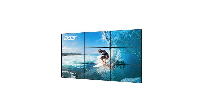 Acer LFDs der DV-Serie: Daisy Chain mit bis zu 150 Geräten ist möglich.