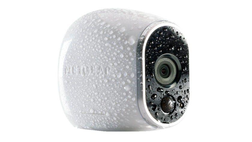 Laut Hersteller ist die Arlo-Kamera wassergeschützt nach IP65