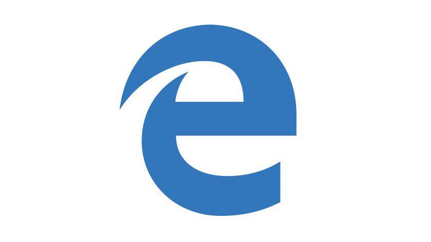 Das Logo von Microsoft Edge.