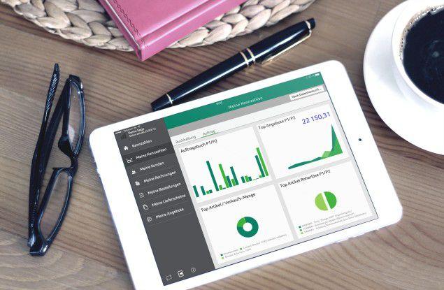 Laut Trovarit-Studie laufen nur 15 bis 22 Prozent aller ERP-Installationen über Tablet oder Smartphone.