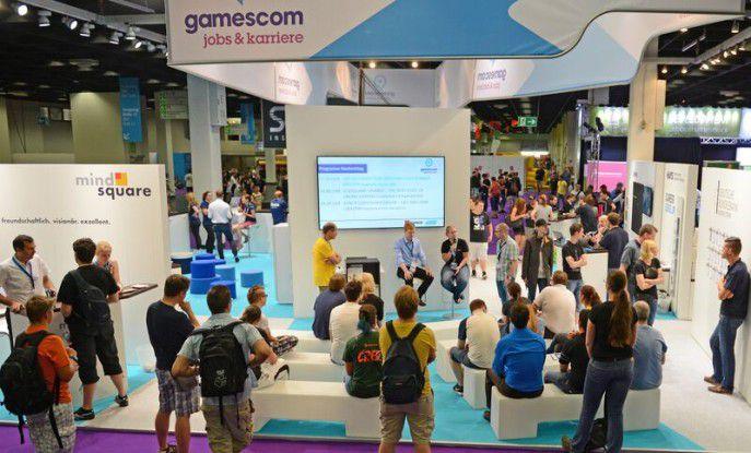 Wer sich über Jobmöglichkeiten auf der gamescom informieren wollte, konnte dies sehr ausführlich im Karriereforum der COMPUTERWOCHE und der making games tun.