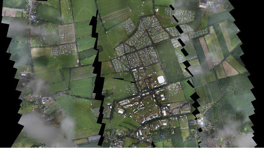 Das Wacken Open Air 2015 wurde zum Schauplatz des VABENE++-Verkehrsmanagement-Projekts.