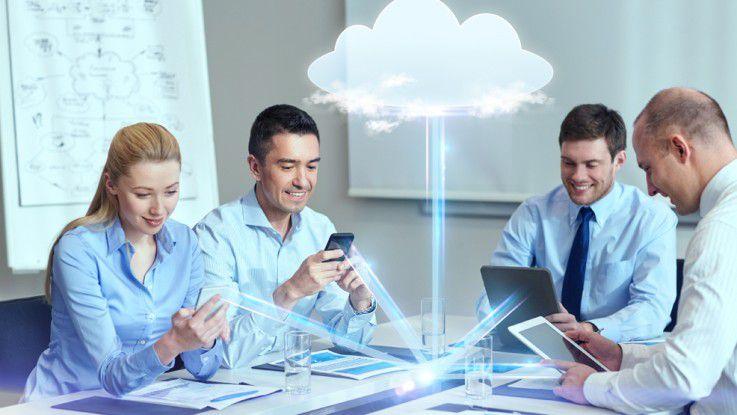 Am häufigsten nutzen Firmen Storage-Dienste aus der Cloud, dicht gefolgt von Backup- und Disaster-Recovery-Services