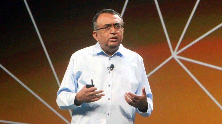 Raghu Raghuram, Executive Vice President für Cloud-Infrastruktur und –Management, erklärte die Unified Cloud.