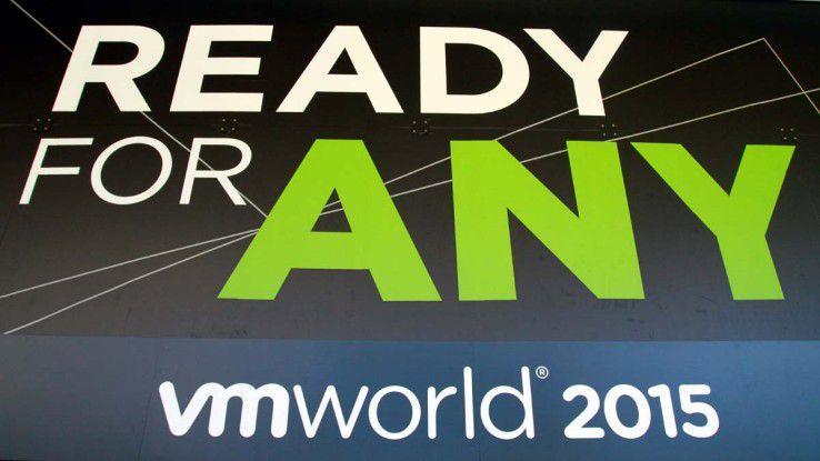 One Cloud, Any Application, Any Device - so lautete das Motto der diesjährigen VMworld.