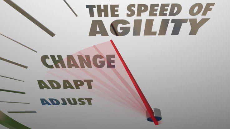 Eine Softwarearchitektur, die Agilität unterstützt, muss ebenfalls agil sein.