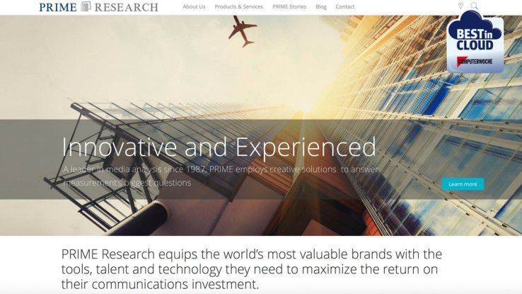 Gemeinsam mit Prime-Research tritt IBM bei Best in Cloud an.