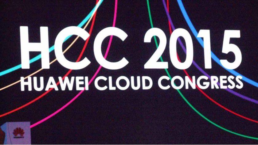 Auf dem Huawei Cloud Congress 2015 im Shanghai Expo Center präsentiert der chinesische ITK-Riese Huawei seine Cloud-Strategie vor gut 10.000 Besuchern.