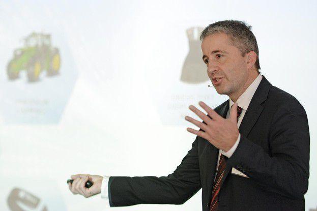 Marius Lohr von EMC präsentiert Isilon.