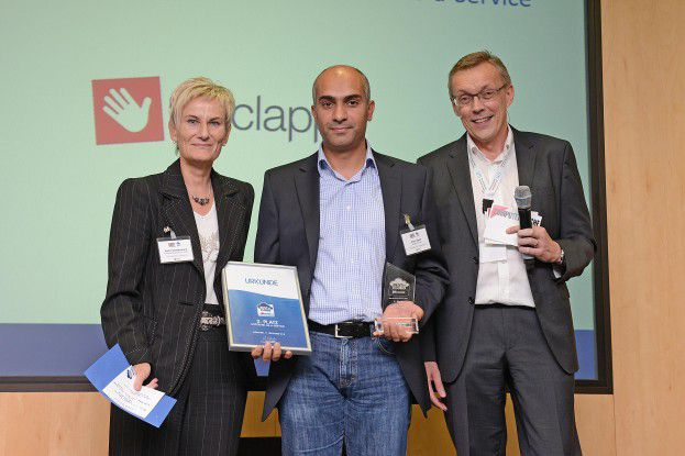 Weclapp holt sich den 2. Platz in der SaaS-Kategorie.