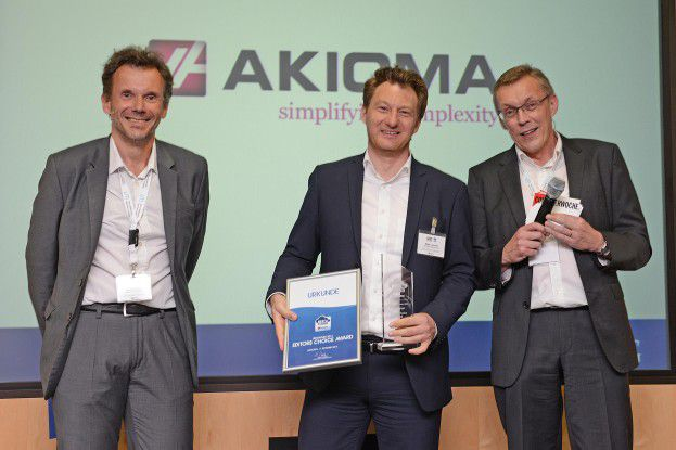 AKIOMA holte sich den Editors Choice Award.