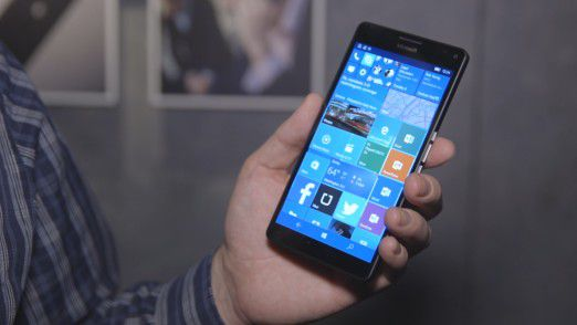 Smartphone mit Windows 10 Mobile: Microsoft Lumia 950 XL