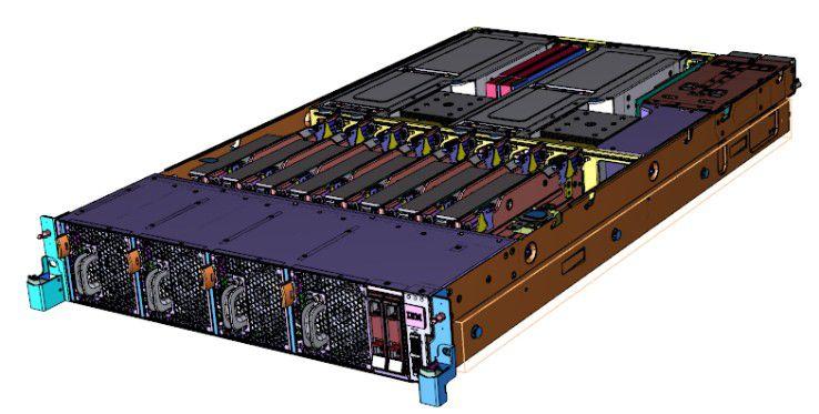 Der IBM Power Systems Server S822LC beschleunigt Big Data Anwendungen auf Basis der Power8-Prozessor-Architektur.
