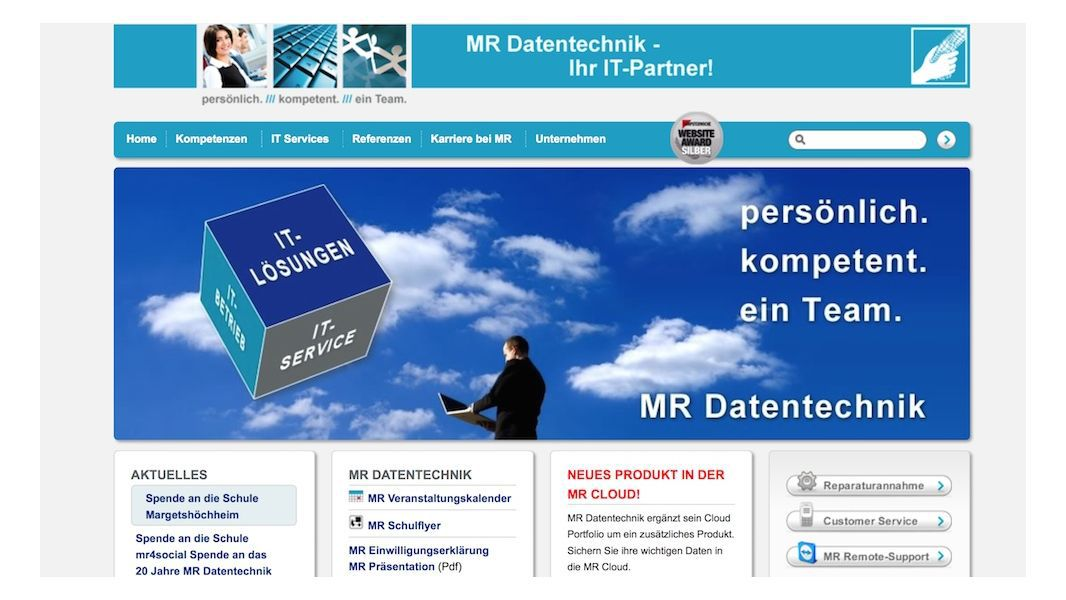 Platz 22: MR Datentechnik