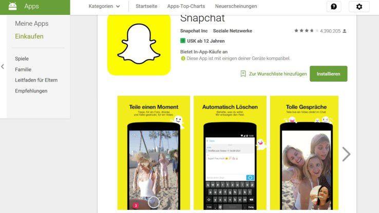 Performance-Fresser Nummer 1 ist im aktuellen App Performance Report Snapchat.