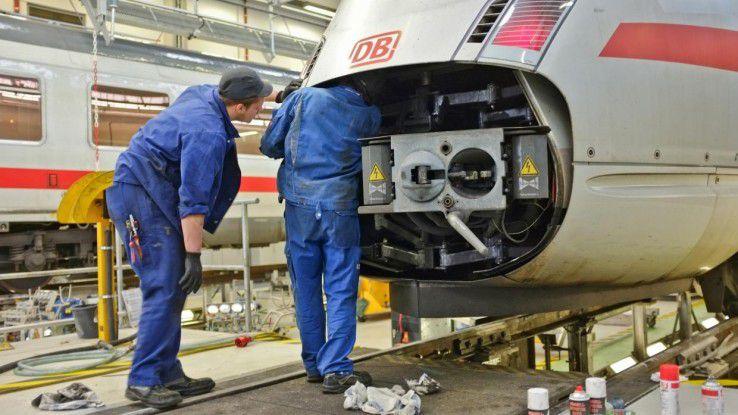 Predictive Maintance ist eines der Zukunftsthemen bei der Bahn.