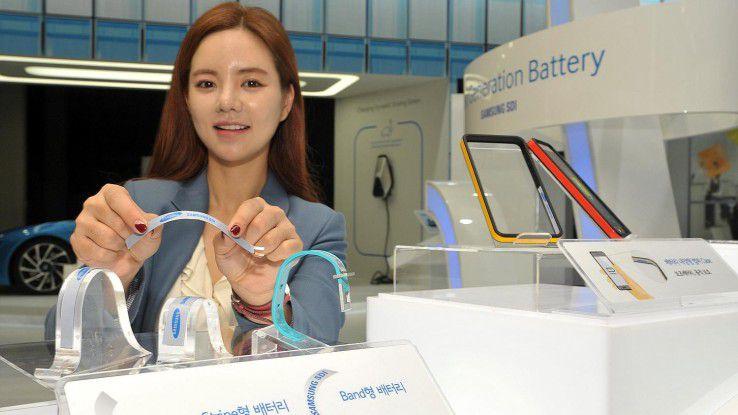 Samsung Stripe: Ultradünner und flexibler Akku
