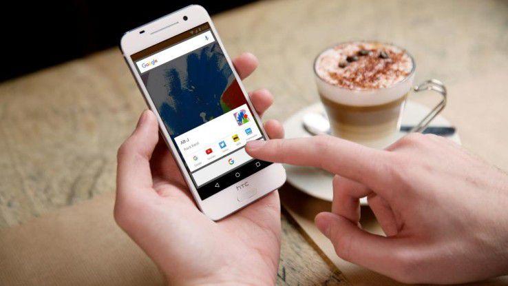 Das HTC One A9 mit Android 6.0 Marshmallow ist ab heute erhältlich.