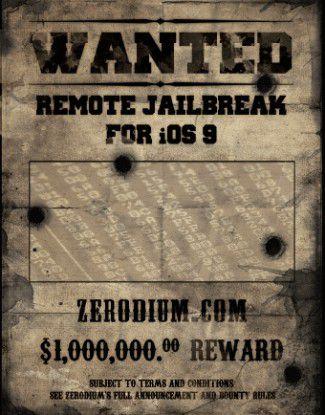 Der Gewinner des iOS-9.1-Jailbreak-Wettbewerbs erhielt angeblich eine Million Dollar Preisgeld.