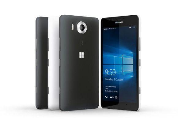 Das Lumia 950 mit Windows 10 Mobile