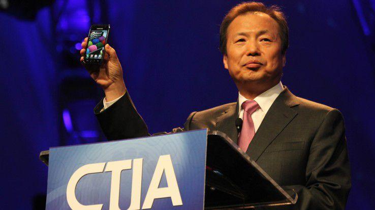 Der scheidende Samsung-Chef Jong-Kyun Shin