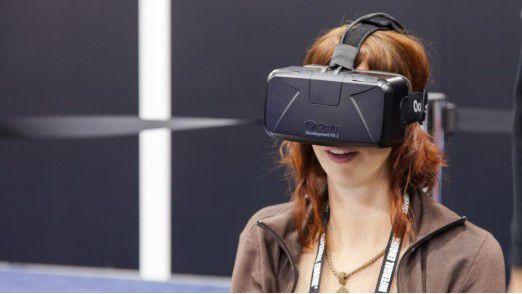 ... oder an einer VR-Brille wie Oculus Rift?