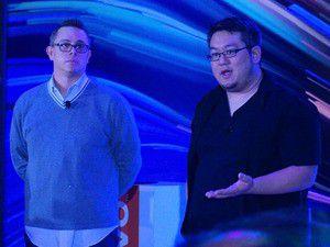 Jeff Meredith, Vice President von Lenovo und Johnny Lee von Google (rechts) standen den CES-Besuchern Rede und Antwort.