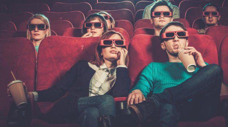 """Mit alleiniger, passiver Rezension könnte es im Kino künftig vorbei sein - wenn das Cottbusser Projekt """"Auf der Suche"""" Schule macht."""