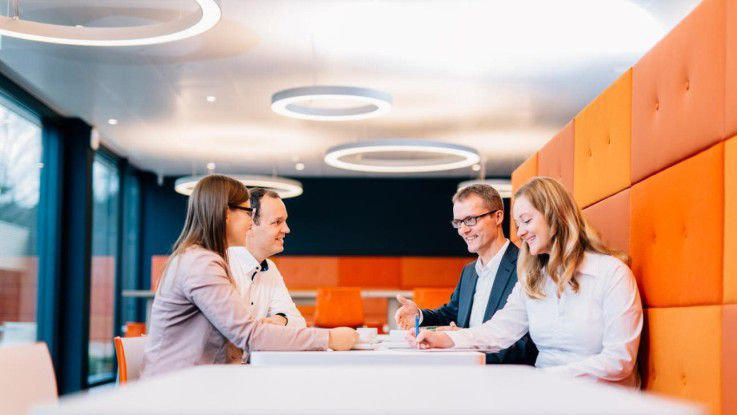 Die Mitarbeiter von Diamant Software sollen durch Transparenz, Innovationen, Qualität, Stabilität und Beziehungsmanagement langfristig an das Unternehmen gebunden werden.