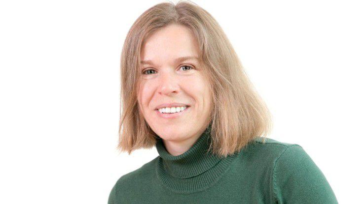 """Dotchka Pentcheva, Projektron: """"Wir wünschen uns persönliche Eigenschaften wie Offenheit, Kundenorientierung, Engagement, Lernbereitschaft. Das Ergebnis stimmt, die Fluktuation liegt stetig unter zwei Prozent."""""""