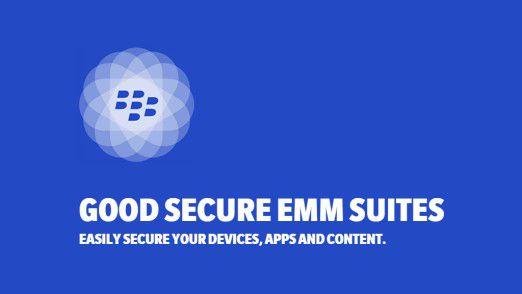 Die Good Secure EMM Suites kombinieren die Lösungen von Good und Blackberry.