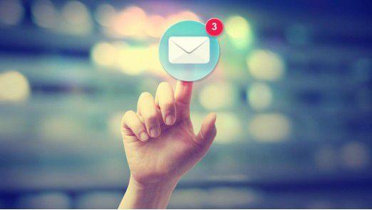 Die meißten Deutschen haben ihren privaten E-Mail-Account bei GMX oder Web.de.