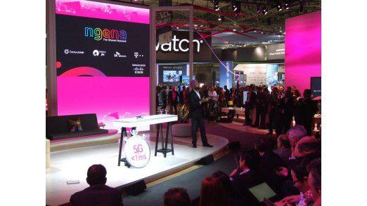 Cisco CTO Zorawar Biri Singh erläuterte als Technologiepartner das geplante Weltnetz negena.