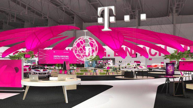 Der CeBIT-Auftritt der Telekom steht ganz im Zeichen der Digitalisierung.