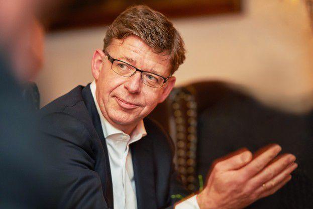 Reinhard Clemens ist im Telekom-Vorstand für die Geschäftskundensparte T-Systems verantwortlich.