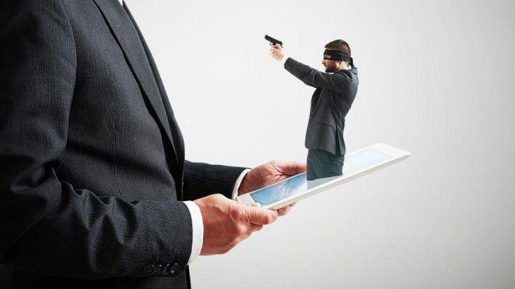 Mobiles Arbeiten ist zum Alltag geworden - seine Gefahren leider auch.