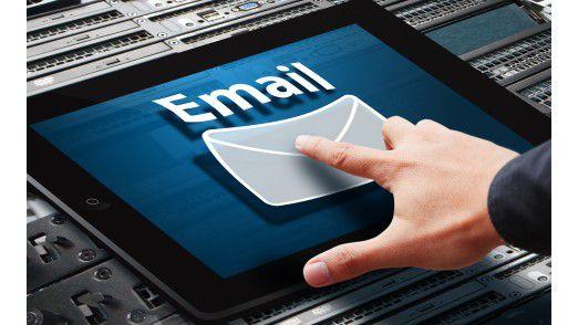 Die mobile E-Mail-Nutzung gehört heute zum Alltag.
