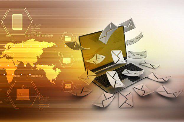 122 Mails und mehr pro Tag - die Mail-Flut überfordert viele Anwender.