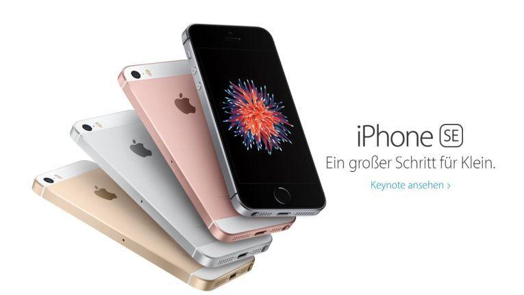 Das neue 4-Zoll-Smartphone besteht unter anderem aus Komponenten iPhone 5S, iPhone 6 und iPhone 6S