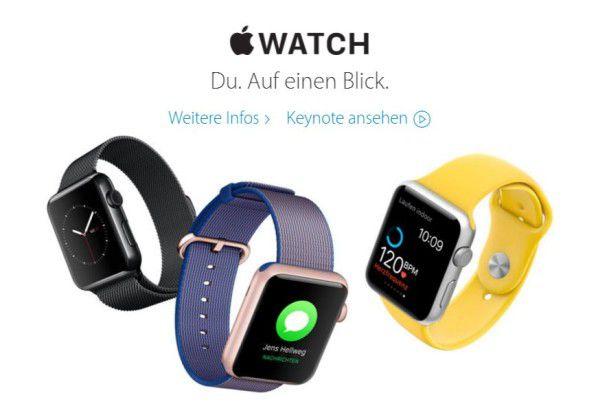März-Event: Apple senkt Preis für Apple Watch und liefert Update auf