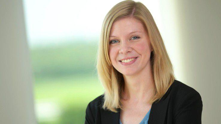 Sarah Lenger ist als Personalreferentin für die innobis AG tätig.