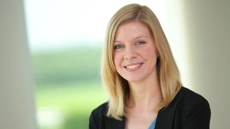 Sarah Lenger kümmert sich um die Personalgeschäfte bei Innobis.