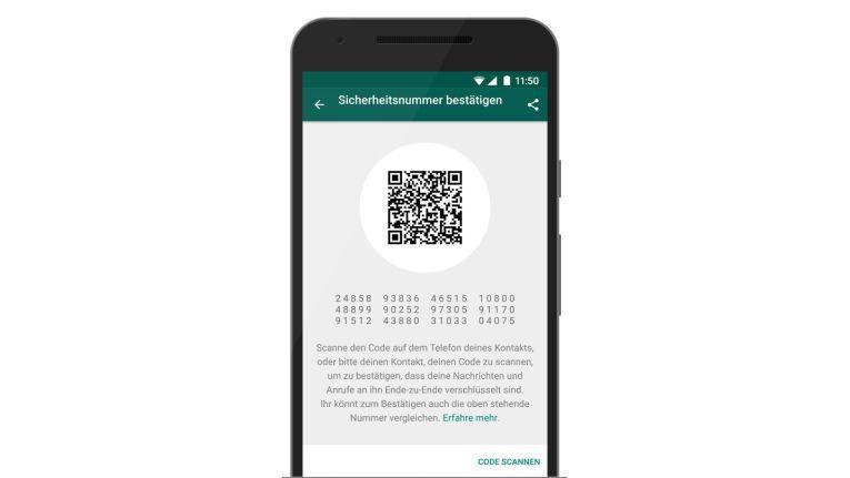 WhatsApp ermöglicht nun End-to-End-Verschlüsselung für Nachrichten, Anrufe und gesendete Dateien. Die Metadaten bleiben jedoch für den Anbieter sichtbar.