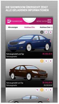 Per App soll die Verbindung zwischen Kundem und Autohaus verbessert werden.