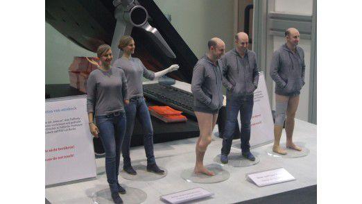 Die Individualisierung der Produktion erreicht auch die Medizin: Prothesen entstehen schneller und günstiger per 3D-Druck. Die Daten stammen aus einem 3D-Fullbody-Scanner des Berliner Startups botspot.