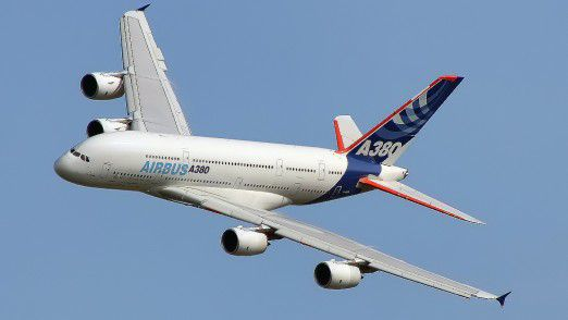 Der Airbus A380.