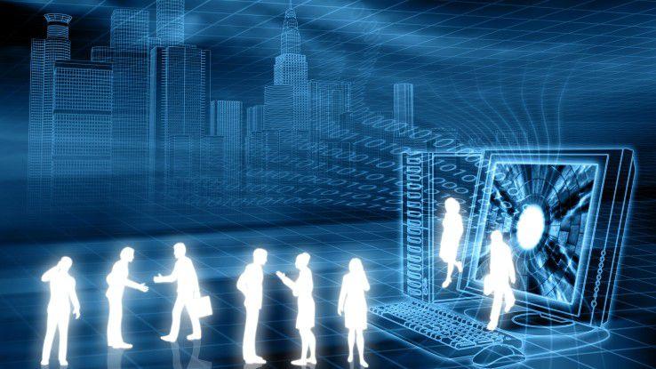 Digitale Transformation kann auch bedeuten, viele an einem Prozess beteiligte Unternehmen technologisch enger aneinander zu ketten.