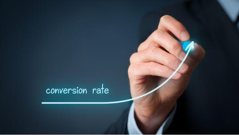 Ist die Website optimal gestaltet, klappts auch mit der conversion rate.