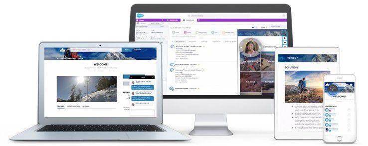 Mit den Snap-Ins in Service Cloud Lightning von Salesforce sollen Unternehmen Serviceangebote durchgängig über verschiedene Plattformen hinweg anbieten können.